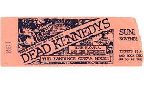 Dead Kennedys 11-04-84