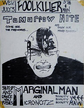 Marginal Man Live at the Foolkiller in KC, MO 07-03-85