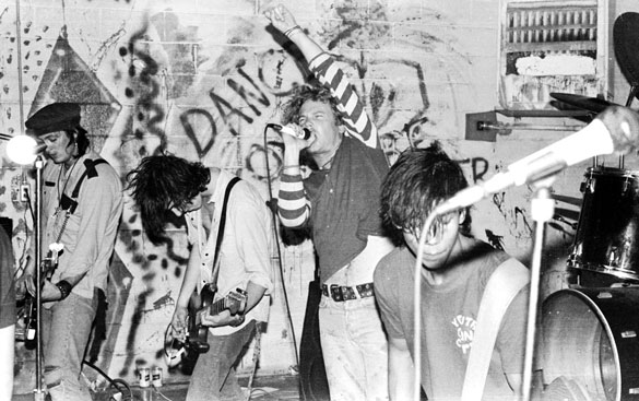 Decry: Live At The Outhouse in Lawrence, KS 10-17-85. Photo © Jason Willis