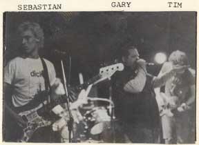 Sebastian, Gary, Tim